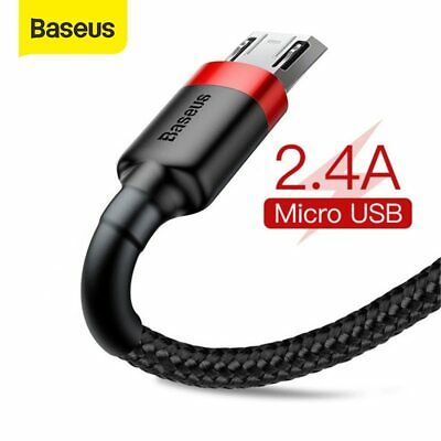 Baseus Micro USB Charger Cable Fast Charging Lead Data&Sync Cord for Samsung LG