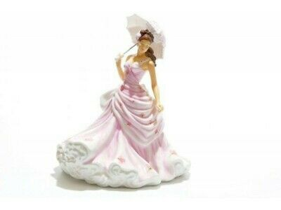 The English Ladies Co Pink For You  Doll Figurine, New And Boxed