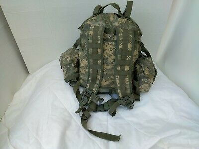 3 Day Assault Pack ACU Digital Camo US Army Issue + 2 Canteen & 2 IFAK Pouches