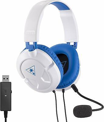 Turtle Beach Ear Force Recon 60P White Headband Headsets - PS4