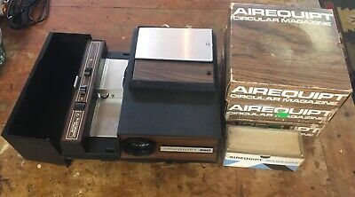 Vintage Airequipt 660 Slideviewer With Slide Magazines