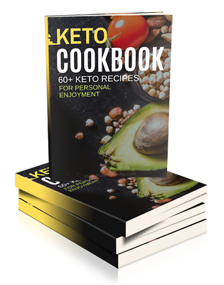 keto diet cook book +60 keto recipes for enjoyment 🔥 instant delivery 🔥