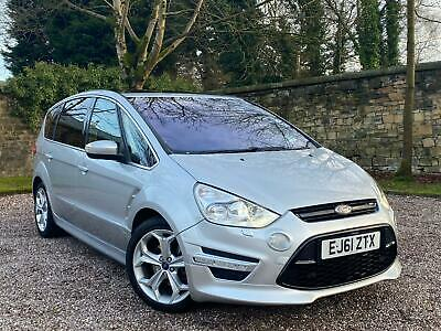 ✅ 2011 61 Ford S Max Titanium X Sport 2.2 Tdci + Pan Roof + Xenons + H/Leathers