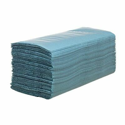 NEW! Hostess Hand Towels Blue 224 Sheets Pack of 12 6876