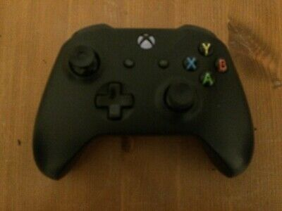 Official Microsoft Xbox One Black Wireless Used Controller Unboxed