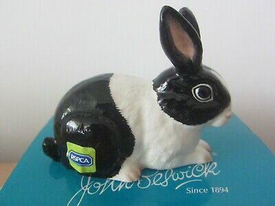 White Rabbit John Beswick Adorable Animals in Conjunction with the RSPCA