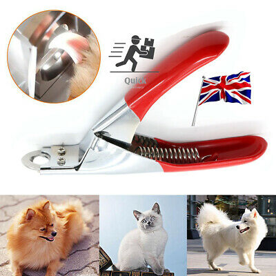 Pet Nail Toe Claw Clippers Scissor Trimmer Shear Cutter Grooming Dog Cat Tool
