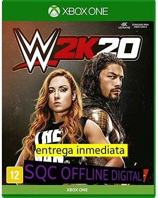 wwe 2k20 xbox one offline no cd no codigo