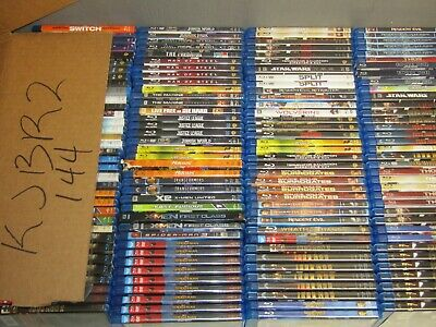 144 BLURAY dvd lot * BLU RAY wholesale bulk movie  * KJBR2