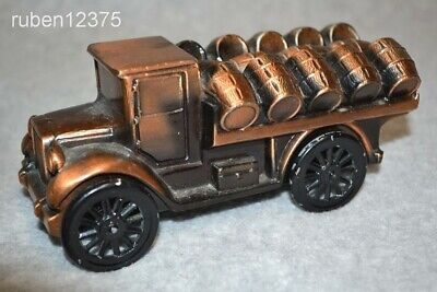 1928 Beer Keg Barrel Hauling Truck Bank, 1974 Banthrico Metal Coin Bank