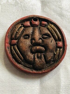 Antique Chinese Red Cinnabar Pendant