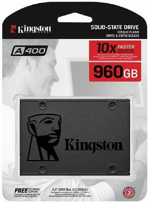 "Kingston A400 SSD SA400S37/960G - Disco duro sólido interno 2.5"" SATA 960GB"