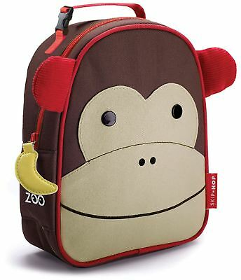 Skip Hop ZOO LUNCHIE INSULATED LUNCH BAG - MONKEY Kids Lunch Bags - BN