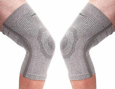 (PK of 2) Incrediwear Knee Sleeve - Radical Pain Relief for Aches & Injuries (L)