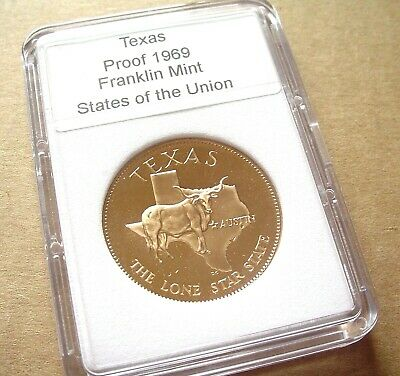 """NORTH DAKOTA Flickertail Stage Coach SLABBED Proof /""""States of the Union/"""""""