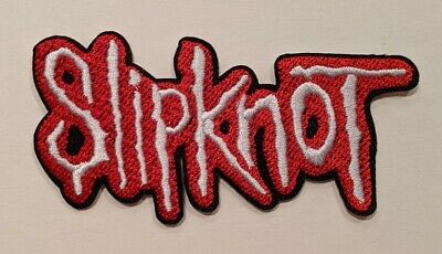 Slipknot Embroidered Iron-on Nu Metal Band Patch