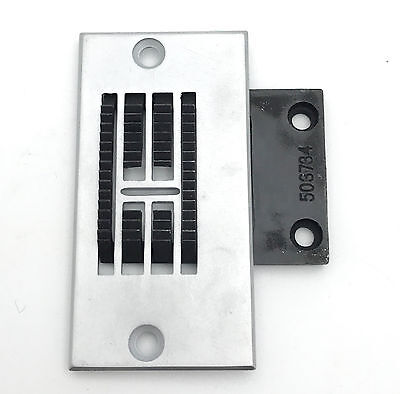 Industrial Single Needle Plate and Feed Dog Set 26603 and 26605