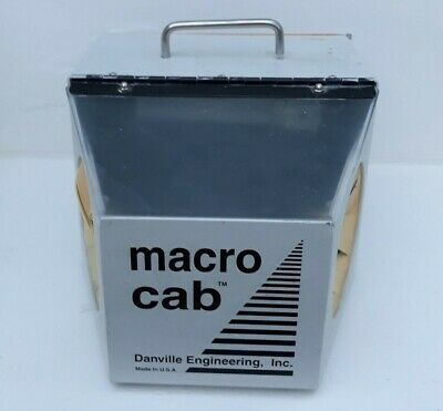 Danville Macro Cab Dental Lab Dust Collector Collection Unit Working Clean