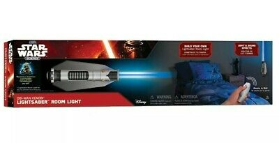 Star Wars Lightsaber Room Light OBI-WAN Blue Jedi NEW WITH REMOTE Hangs on WALL!