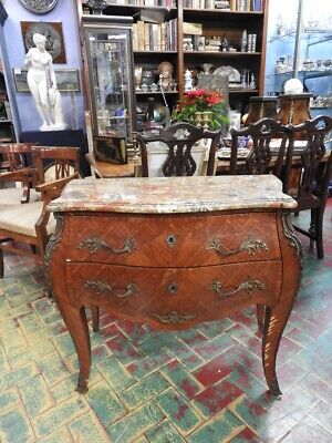 Dresser Paris a Marquetterie in Wood of Rose Line Mossa Wood of Rose