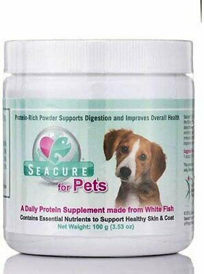 Seacure for Pets Hydrolyzed White Fish - 3.53 oz (100 Grams) by Proper Nutritio