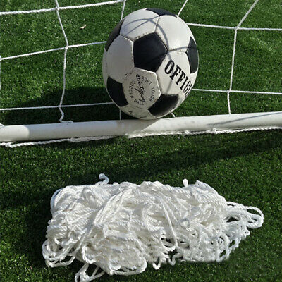 Football Soccer Goal Post Nets For Sports Training Match Replace 3 Multi Size UK