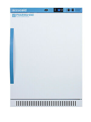 "Summit AR6PV White Accucold 24""W 6 Cu. Ft. Pharmacy Refrigerator"