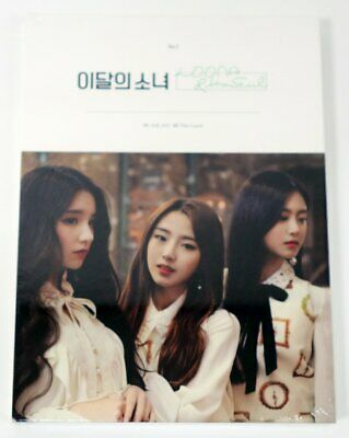 [Reissue] MONTHLY GIRL LOONA - LOONA & HASEUL CD+Photobook+Photocard+Free Gift