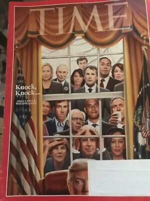 Time Magazine - March 4, 2019 - Knock, Knock - Democrat Primary 2020 Candidates