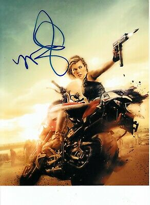 Milla Jovovich Pre-Print Signed A4 Size Photo Autograph Resident Evil 1462