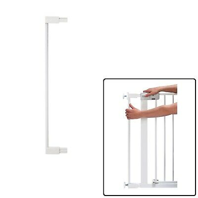 Safety First 1st Stair Gate 7cm Extension For Pressure Fit Stair Gates White