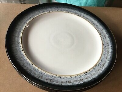 Denby Halo Dinner Plates X 2 Diameter 27.5 Inches