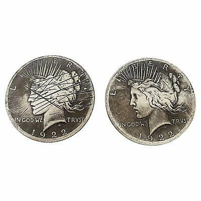 Two Face 2 Sided Coin w/ Scratch Prop Harvey Dent for BATMAN Costume Cosplay New