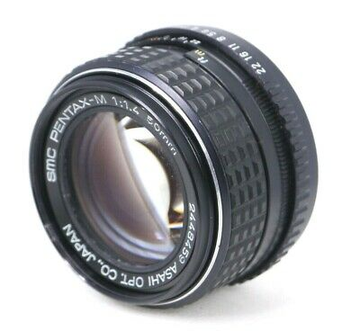 【AS IS】 Pentax SMC PENTAX-M 50mm f/1.4 MF Lens For K Mount From Japan