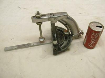 Vintage Boice Crane Shaper Router Fence Clamp Attachment Table Saw Miter