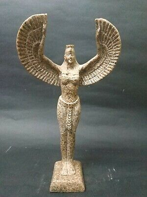 Rare Antique Ancient Egyptian Statue Beautiful Isis Goddess of the Moon Granite