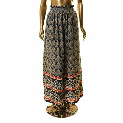 GRACIA NEW Women's Printed Wide Leg Pull On Palazzo Pants TEDO