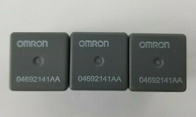 Lot of 3 OMRON Chrysler/Dodge/Jeep 04692141AA Relay. Tested