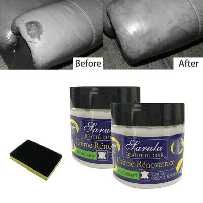 2X Powerful Leather Repair Cream Filler Compound  Restoration Crack Hole Wax