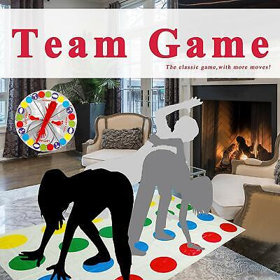 Funny Twister The Classic Game Body Game With 2 More Moves Family Games Party