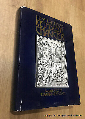 WILLIAM MORRIS KELMSCOTT CHAUCER hardback Burne-Jones illus 1985