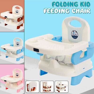 Portable Kid Baby Highchair Infant High Feeding Seat Folding Toddler Table Chair