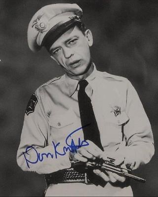 Don Knotts Autographed Repro Photo 11X14 Barney Fife Andy Griffith Show