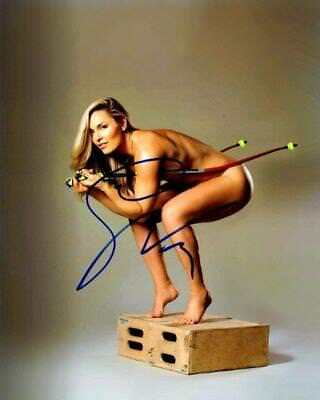 REPRINT - LINDSEY VONN USA Hot Autographed Signed 8 x 10 Photo Poster RP