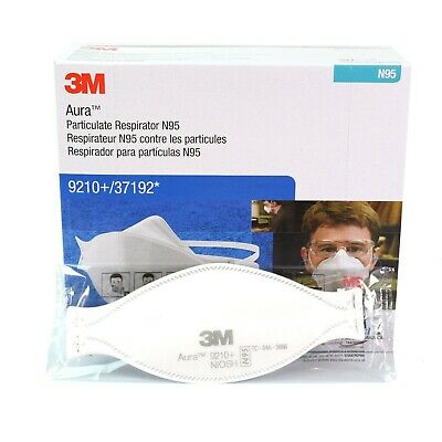 3M N95 9210+ / 37192 Disposable Particulate Respirator Surgical Face Mask