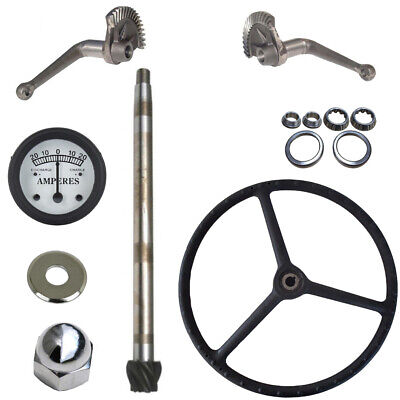 Steering Gear Box Assembly Rebuild Kit For Ford Tractor 2N 9N (1939-1947)