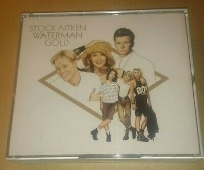 Stock Aitken Waterman - Gold 3 Cd Set Fatbox Hit Factory Greatest Hits Best Of