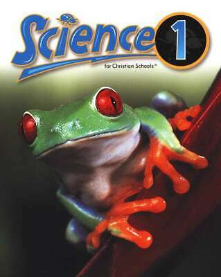 BJU Bob Jones 1st grade SCIENCE 1 Student Text Revised 2nd Edition SAVE!