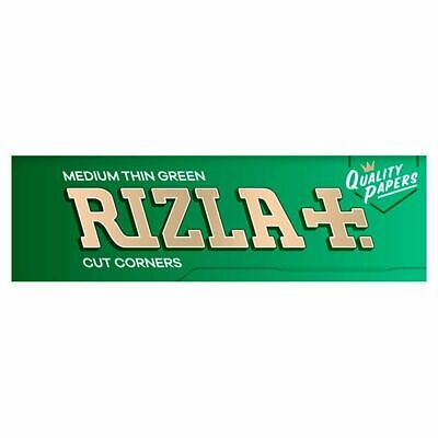 RIZLA Green Silver Red Liqorice Regular Genuine Rolling Papers - BULK PRICES