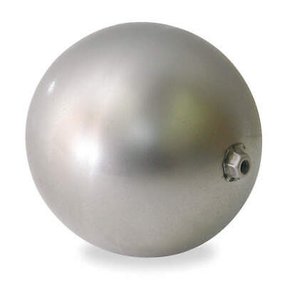 """5"""" Round Stainless Steel Float Ball 1/4"""" Connection  *New*"""